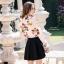 เสื้อผ้าเกาหลีพร้อมส่ง เสื้อเชิ้ตคอปกปริ้นลายดอก แบบ Gucci ดีไซน์เรียบหรู thumbnail 3