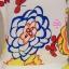 เสื้อผ้าเกาหลี พร้อมส่งเซตเสื้อดอกไม้ + กางเกง เหลือง thumbnail 3
