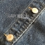 เสื้อผ้าแฟชั่นเกาหลีพร้อมส่ง แจ๊กเก็ตผ้าเดนิมปักลายดอกไม้สไตล์สตรีทชิค thumbnail 8