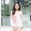 เสื้อไหมพรมงานเกาหลี คอกลม thumbnail 7