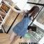 เสื้อผ้าเกาหลีพร้อมส่ง เอี๊ยมยีนส์กระโปรงสั้นน่ารัก thumbnail 1