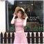 เสื้อผ้าเกาหลีพร้อมส่ง Set เสื้อแขนกุดไหมพรม+กระโปรง thumbnail 3
