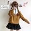 เสื้อผ้าเกาหลีพร้อมส่ง เสื้อแขนยาว คอตั้งซิปหน้า ผ้าสวยมากเนื้อผ้าอย่างดี thumbnail 6