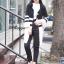 เสื้อผ้าเกาหลีพร้อมส่ง คาดิแกนคลุมกันหนาวแขนยาวสี่ส่วน thumbnail 2