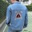 เสื้อผ้าเกาหลีพร้อมส่ง Jeans Jacket ฉลาม thumbnail 1