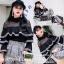 เสื้อผ้าแฟชั่นเกาหลีพร้อมส่ง เสื้อตัวนี้ดูเก๋สุดๆคร่า แต่งระบายชั้นๆช่วงอก thumbnail 4