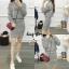 เสื้อผ้าเกาหลีพร้อมส่ง Set ไหมพรม ทรงน่ารัก ใส่คู่กันเป็น Set thumbnail 7