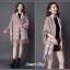 เสื้อคลุมสไตล์เกาหลี ผ้าwool 100% มี 3 สี thumbnail 4