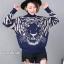 เสื้อผ้าเกาหลีพร้อมส่งเสื้อแขนยาวคอเต่าผ้าไหมพรม thumbnail 5