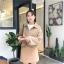 เสื้อผ้าเกาหลีพร้อมส่ง เสื้อคลุมผ้าวูล thumbnail 4