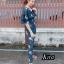 เสื้อผ้าแฟชั่นเกาหลีพร้อมส่ง Jumpsuit สวยลงตัวในชุดเดียว thumbnail 4