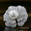 Diamond Brooch เข็มกลัดดอกไม้เพชร CZ thumbnail 2