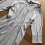 เสื้อผ้าเกาหลีพร้อมส่ง เชิ้ตเดรสผ้าคอตตอนลายทางสไตล์มินิมัล thumbnail 9