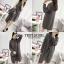 เสื้อผ้าเกาหลีพร้อมส่ง งานชุดเซ็ต 3 ชิ้นเดรสไหมพรม+เสื้อคลุม+และเข็มขัด thumbnail 2