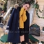 เสื้อผ้าแฟชั่นเกาหลีพร้อมส่ง โอเวอร์โค๊ท ผ้าวูลเนื้อแน่นซับใน thumbnail 12