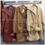 เสื้อผ้าแฟชั่นเกาหลีพร้อมส่ง เสื้อคลุมกันหนาวผ้าขนสั้นซับใน thumbnail 2