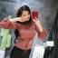 เสื้อผ้าเกาหลีพร้อมส่ง เสื้อไหมพรมแขนยาวดีไซน์แขนให้ดูพองๆน่ารักมากๆ thumbnail 5