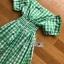ชุดเดรสเกาหลีพร้อมส่ง เดรสผ้าคอตตอนลายสก็อตทรงเปิดไหล่ thumbnail 10