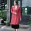 เสื้อผ้าแฟชั่นพร้อมส่ง coat ผ้า wool ซับเย็บด้วยผ้าซาตินข้างในมีขนเป็ด thumbnail 2