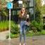 กางเกงยีนส์เอวสูง ขาดถากๆสวยมาก thumbnail 5