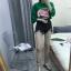 เสื้อผ้าเกาหลีพร้อมส่ง กางเกงยีนส์ขาสั้น เอวสูง มีดีเทลขาดรุ่ยที่ชาย thumbnail 6