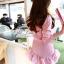 เสื้อผ้าเกาหลี พร้อมส่ง มินิเเดรสลุคสาวหวาน thumbnail 9
