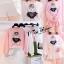 เสื้อผ้าแฟชั่นเกาหลีพร้อมส่ง เซ็ต 2 ชิ้น style cawaii คุ้มสุดๆ thumbnail 7