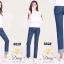 เสื้อผ้าแฟชั่นพร้อมส่ง กางเกงยีนส์ทรงเดฟ ผ้ายีนส์ฮ่องกง thumbnail 3