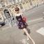 ชุดเดรสเกาหลี พร้อมส่ง Mini Dress ลุคนี้ให้สไตล์คุณหนูแสนซน แอบเปรี้ยวเล็กน้อย thumbnail 3