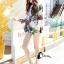 เสื้อผ้าแฟชั่นเกาหลีพร้อมส่ง เสื้อเบรเซอร์ แขนยาวแต่งคอปกมี 3 สี thumbnail 13