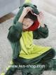 ชุดนอนมาสคอ ไดโนเสาร์เด็ก สีเขียว