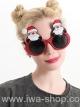 แว่นตาคริสต์มาสซานตาคลอส