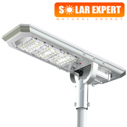 ASL03 โคมไฟถนนโซล่าเซลล์อัจฉริยะ Hi-Spec รุ่น ความสว่าง 3,000 Lumens