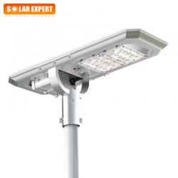 ASL02 โคมไฟถนนโซล่าเซลล์อัจฉริยะ Hi-Spec รุ่น 20W 2000 Lumens
