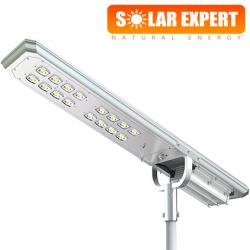 ASL08 โคมไฟถนนโซล่าเซลล์อัจฉริยะ Hi-Spec รุ่น ความสว่าง 8,000 Lumens