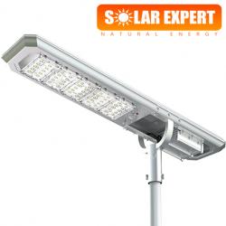 ASL05 โคมไฟถนนโซล่าเซลล์อัจฉริยะ Hi-Spec รุ่น ความสว่าง 5,000 Lumens
