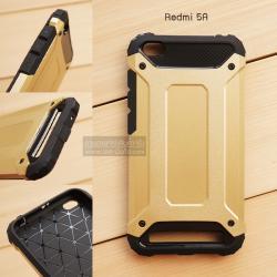 เคส Xiaomi Redmi 5a เคส Hybrid Protection เสริมขอบกันกันกระแทก สีทอง