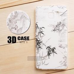 เคส Samsung Galaxy Note 5 เคสนิ่ม สกรีนลาย 3D สามมิติ แบบที่ 6