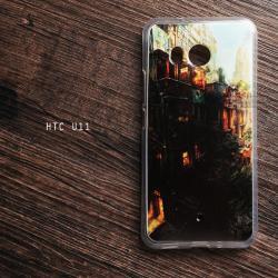 เคส HTC U11 เคสนิ่ม TPU พิมพ์ลาย แบบที่ 18