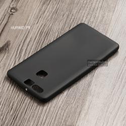 เคส Huawei P9 เคสนิ่ม TPU สีเรียบ สีดำ