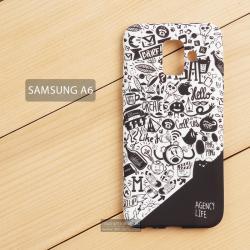 เคส Samsung Galaxy A6 เคสนิ่ม TPU พิมพ์ลายเต็มขอบ แบบที่ 1 Agency Life