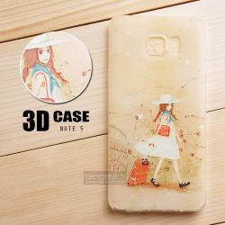 เคส Samsung Galaxy Note 5 เคสนิ่ม สกรีนลาย 3D สามมิติ แบบที่ 4