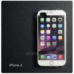เคส iPhone 4 / 4s เคสนิ่ม TPU พิมพ์ลายแบบที่ 1