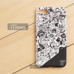 เคส Huawei Y5 Prime (2018) เคสนิ่ม TPU พิมพ์ลายเต็มขอบ แบบที่ 1