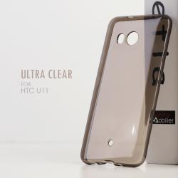 เคส HTC U11 เคสนิ่ม ULTRA CLEAR สีดำใส