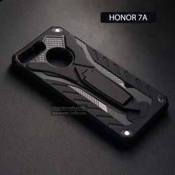 เคส Honor 7A เคสบั๊มเปอร์ กันกระแทก Defender 2 ชั้น (พร้อมขาตั้ง) สีดำ (แบบที่ 2)