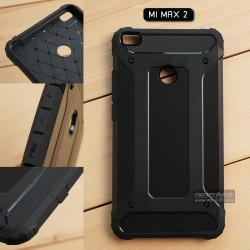 เคส Xiaomi Mi Max 2 เคสบั๊มเปอร์ (เสริมขอบกันกระแทก) สีดำ Hybrid Protection