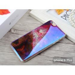 """เคส iPhone 6 Plus (5.5"""" นิ้ว) เคส TPU พื้นผิวเงาสะท้อน (Blu-ray Series) แบบที่ 6 No can but will"""