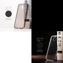 [ แพ็คคู่ ] เคส Samsung Galaxy J5 Pro เคสนิ่ม ULTRA CLEAR สีใสและดำใส