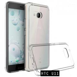 เคส HTC U11 เคส Hybrid ฝาหลังอะคริลิคใส ขอบยางกันกระแทก สีใส